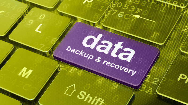 How to backup or recover lost data